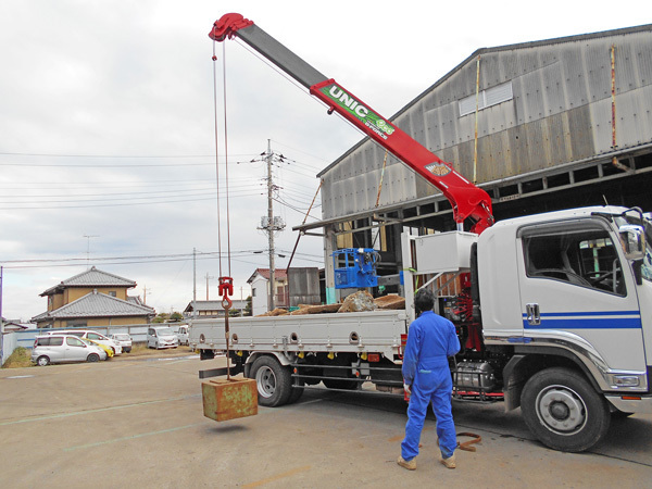 クレーン車の年次検査・整備:茨城県坂東市加藤自動車販売