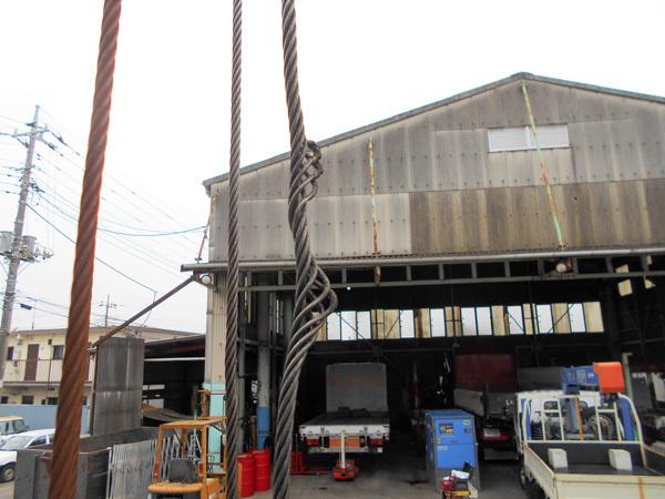 ウインチワイヤーの故障、破損箇所の調査:茨城県坂東市加藤自動車販売
