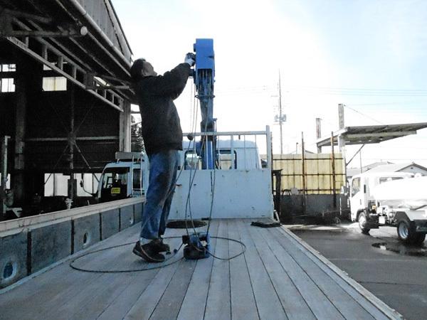 修理:ワイヤー取り付けと確認工程:茨城県坂東市加藤自動車販売