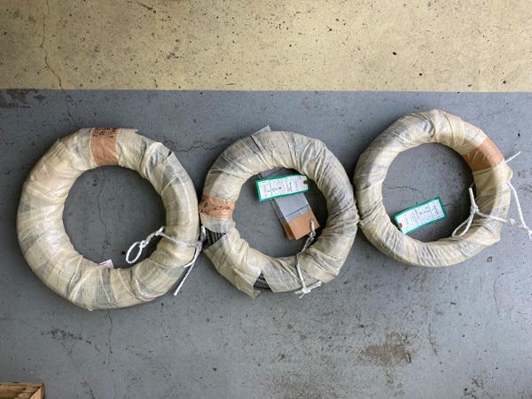 修理:新しいワイヤーの取り付け工程:茨城県坂東市加藤自動車販売