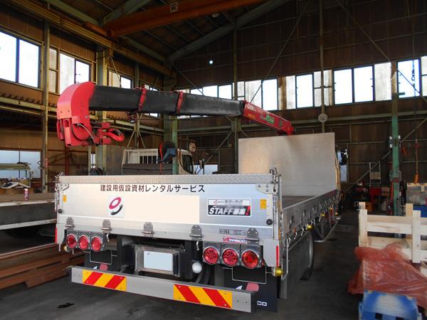 クレーン車修理依頼実績:茨城県坂東市の加藤自動車販売